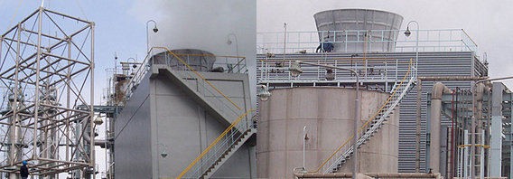 design for special cooling tower